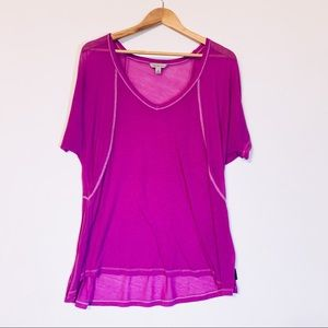 5/20$ Calvin Klein Bright Purple Oversized Tee